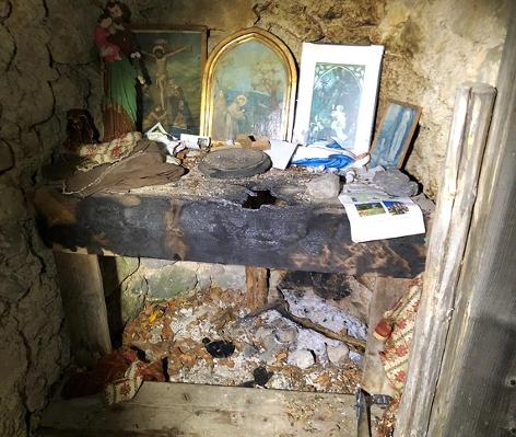 Bergunfall Kapelle