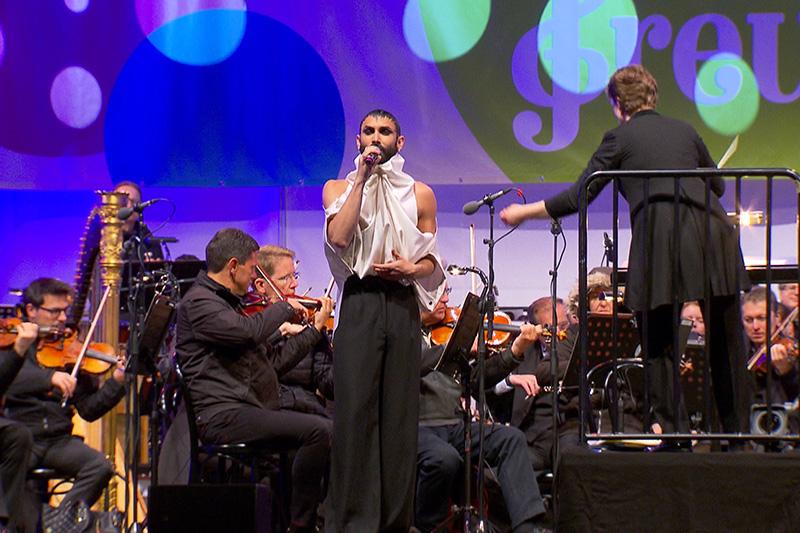 Conchita mit den Symphonikern am Fest der Freude