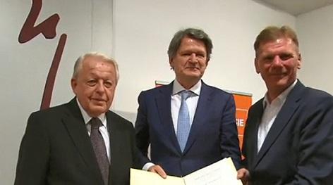 Ari Rath Preis an Silvana Meixner und Helmut Brandstätter