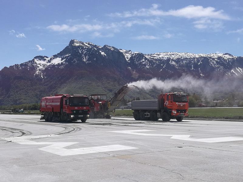 Umbau Flughafen