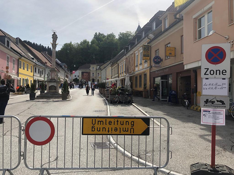 Kroatentreffen Gegendemo Bleiburg