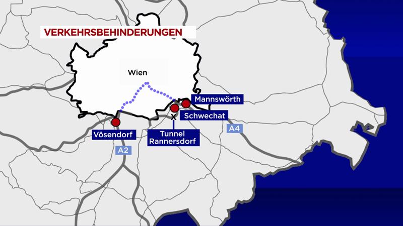 S1 Brand Tunnel Sperre Sanierung Staus