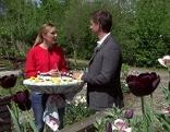 Edina Gaisecker und Wolfgang Lanner im Fernsehgarten