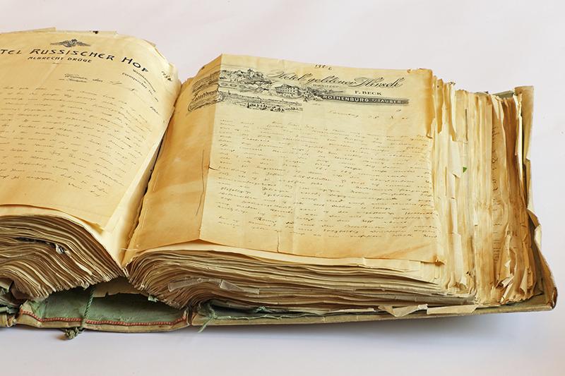 Briefe des Autors Thomas Bernhard