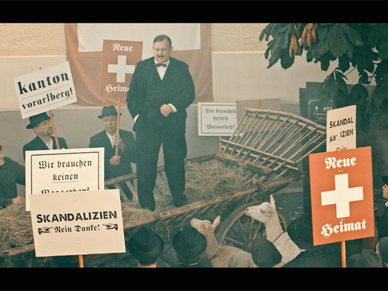 Historische Aufnahmen zur Abstimmung über den Anschluss Vorarlbergs an die Schweiz