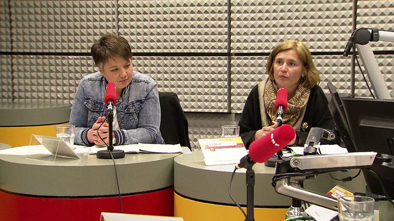 EU Wahl Streitkultur Olga Voglauer Grüne  Cristina Tamas KPÖ