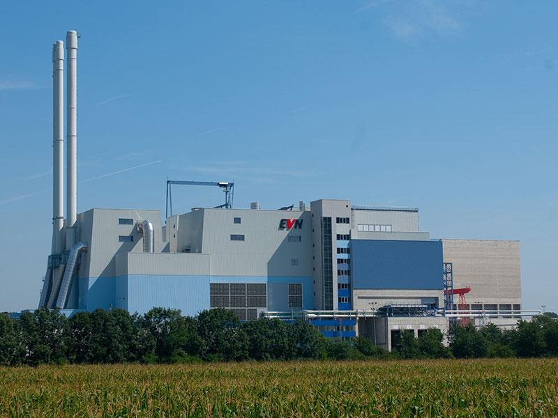 Thermische Abfallverwertung Müllverbrennungsanlage Dürnrohr