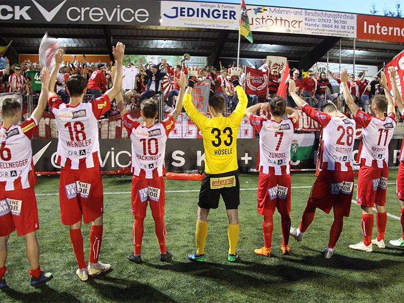 GAK fixiert Aufstieg in Liga 2