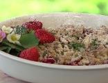 Erdbeer-Crumble
