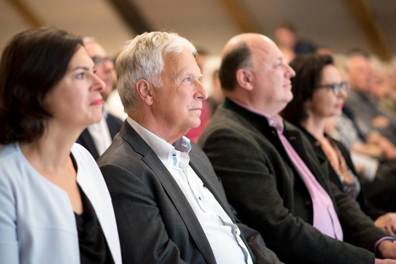 Helmut Pilz sitzt im Publikum