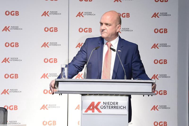AKNÖ-Präsident Markus Wieser
