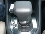Schalthebel eines Automatikgetriebes in einem Auto