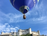 Ballon über Salzburg