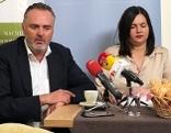 Hans Peter Doskozil und Astrid Eisenkopf