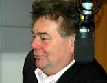 """Werner Kogler im """"Radio Niederösterreich""""-Studio im Gespräch mit Robert Ziegler"""