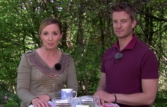 Edina Gaisecker und Apotheker Wolfgang Lanner