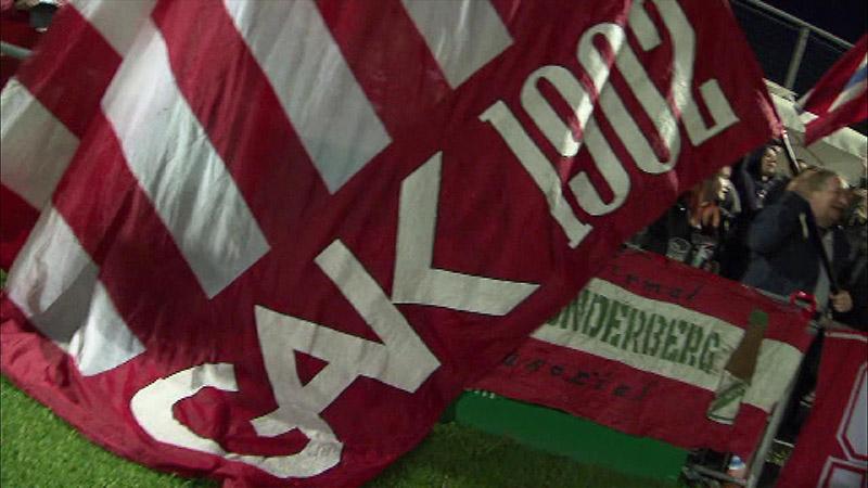 Eine GAK-Fahne