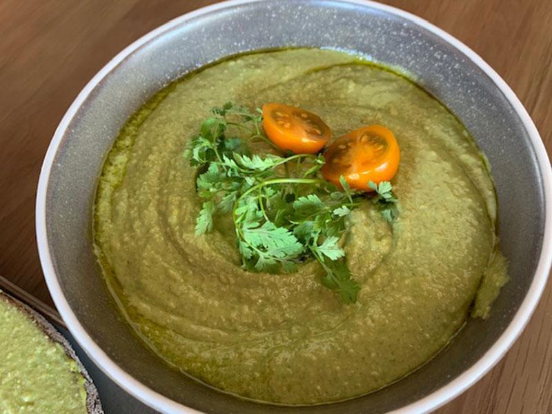 Hummus mit Kräutern