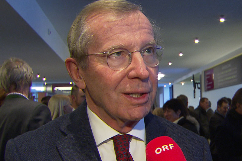 Wilfried Haslauer im ORF Interview
