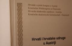 Knjiga o hrvatski društvi u Austriji