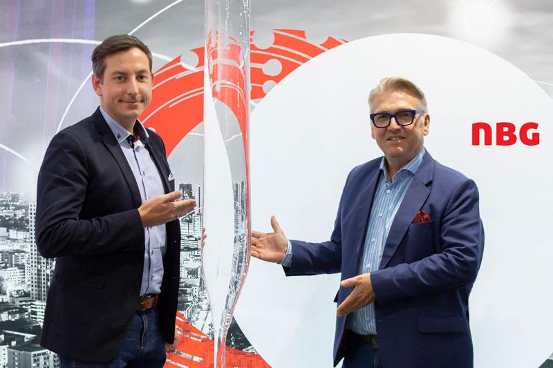 Neue Produktionshalle der NBG in Gmünd