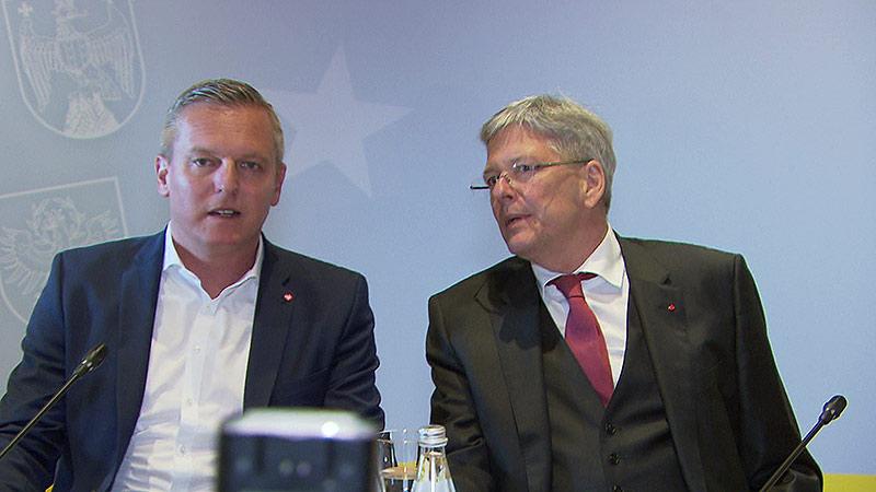 Landeshauptleutekonferenz Peter Kaiser Verteidigungsminister Mario Kunasek