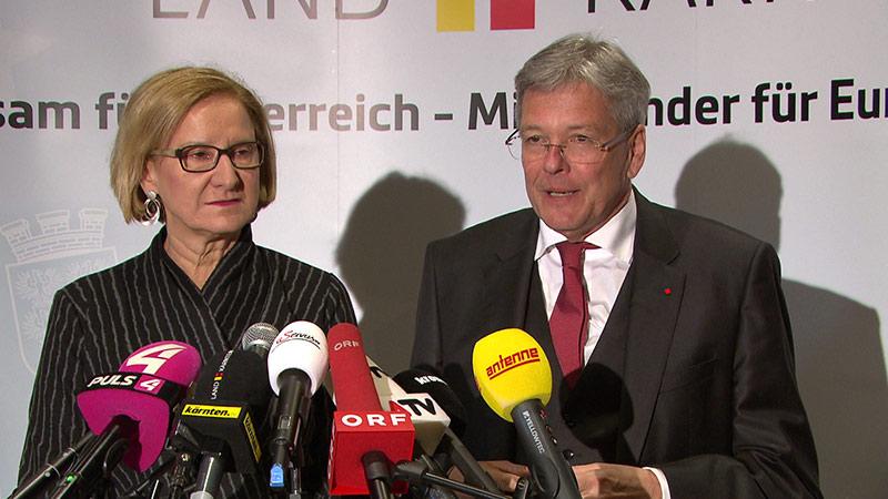 Landeshauptleutekonferenz Peter Kaiser Johanna Mikl Leitner