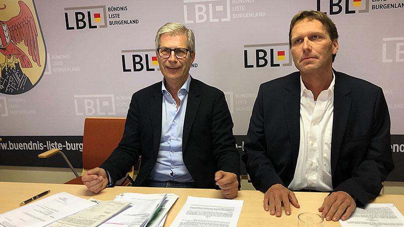 Manfred Kölly und Herbert Schütz