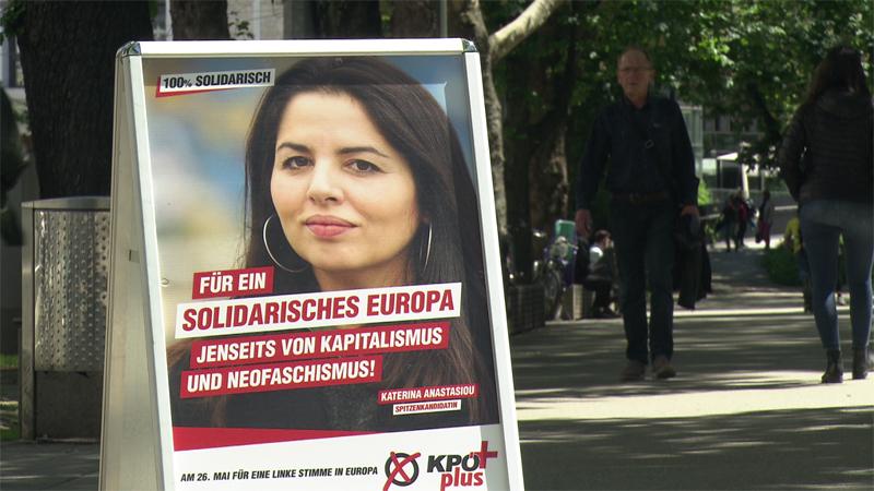 KPÖ auf Wahlkampf in Linz