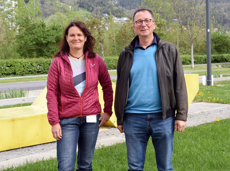 Claudia Lamina und Florian Kronenberg