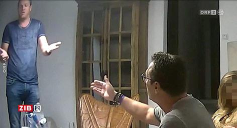 Screenshot von einem Video von Vizekanzler Heinz-Christian Strache