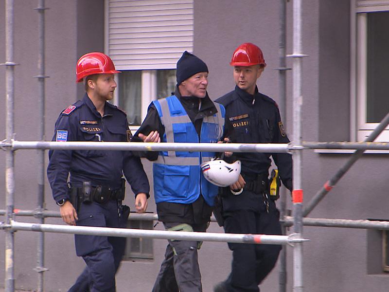 Armin Ortner, Chef der Brandermittler der Wiener Polizei