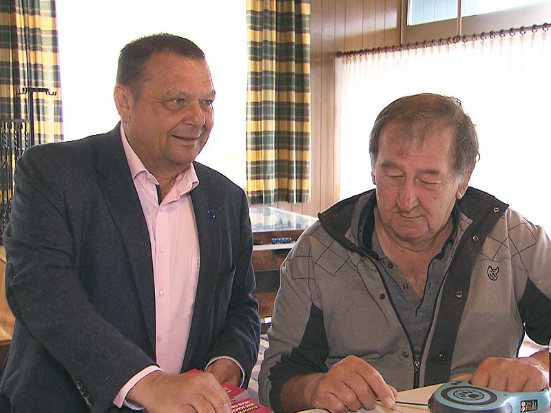 Eduard Posch im EU-Wahlkampf