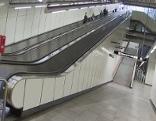 Wiens längste Rolltreppe in der Station Zippererstraße