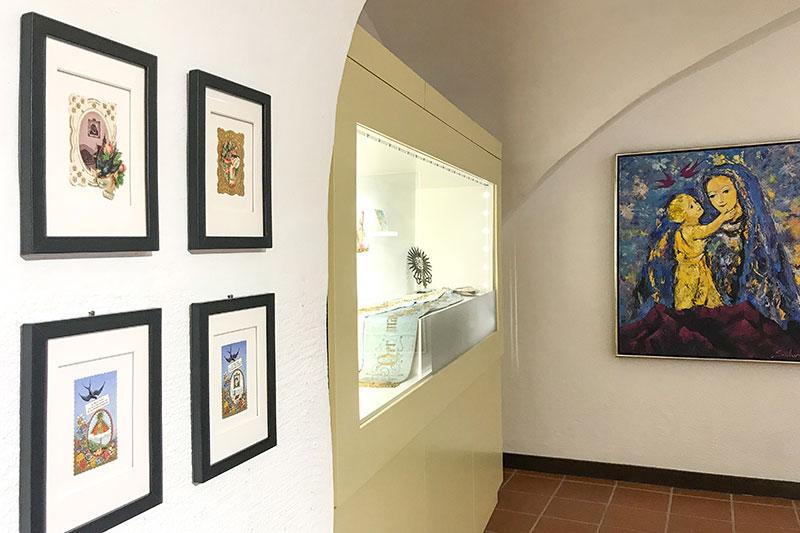 Sonderausstellung zu Maria im Museum Schloss Ritzen