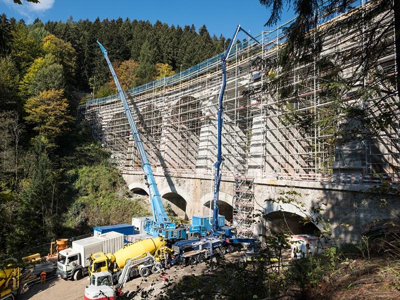 Sanierungsarbeiten Semmering Bergstrecke ÖBB