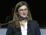 Marlene Svazek bei Rede am steirischen FPÖ Landesparteitag