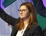 Marlene Svazek beim Landesparteitag der steirischen FPÖ in Graz