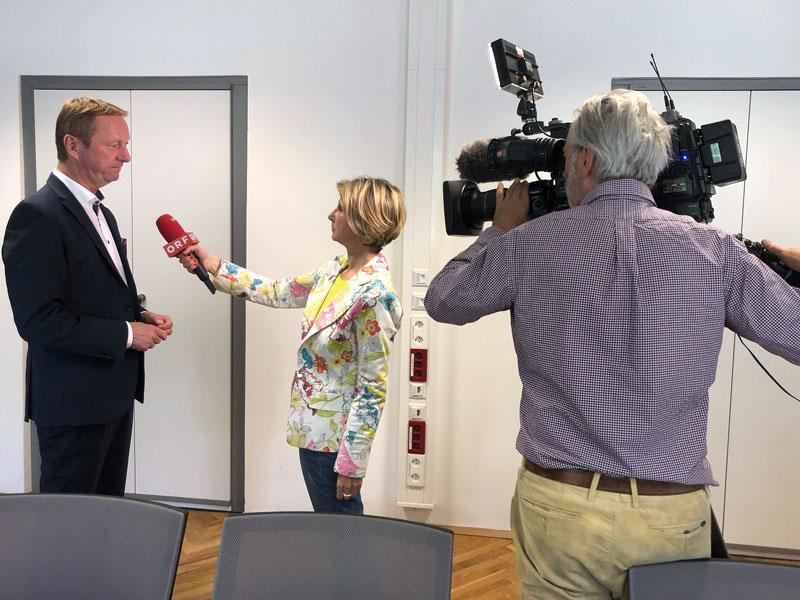 Johann Tschürtz im Interview