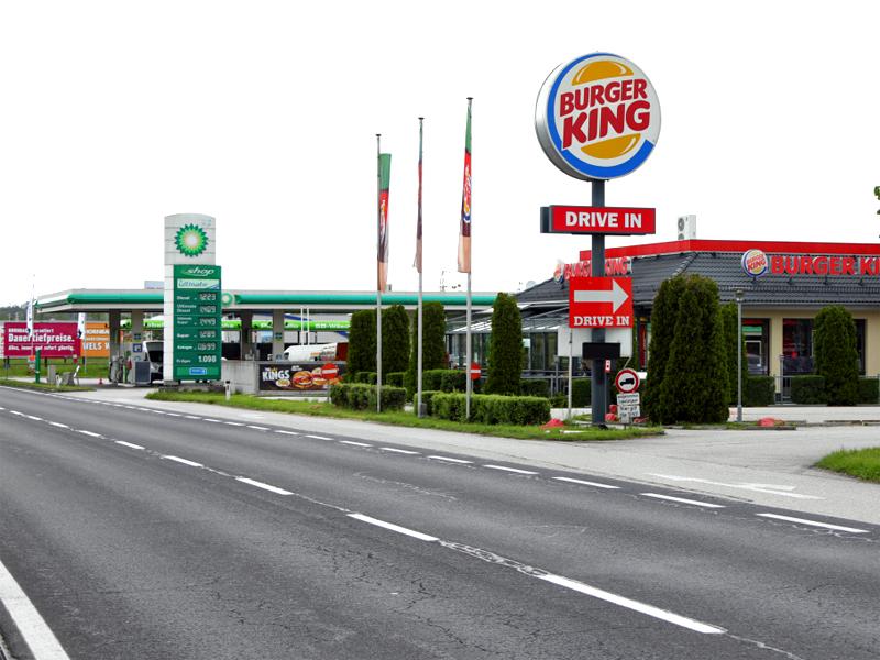 Überfall auf Fastfood-Lokal in Wels