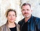 Carolin Pienkos und Cornelius Obonya