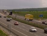 Die Ostautobahn zwischen Fischamend und Bruck/West