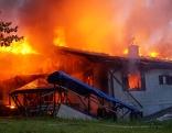 Brand bei Paldau