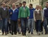 Abschlussveranstaltung der FPÖ in den Weinbergen
