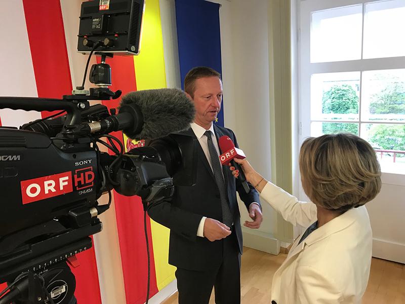 Johann Tschürtz im Interview mit Patricia Spieß