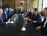 Besprechung der Landeshauptleute bei Bundeskanzler Kurz