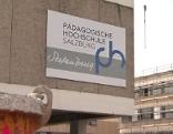 Umbauarbeiten an der Pädagogischen Hochschule in der Akademiestraße