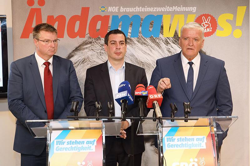 SPÖ Schnabl Sidl Europawahl
