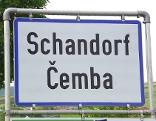 Ortstafel Schandorf