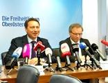 Pressekonferenz mit Manfred Haimbuchner